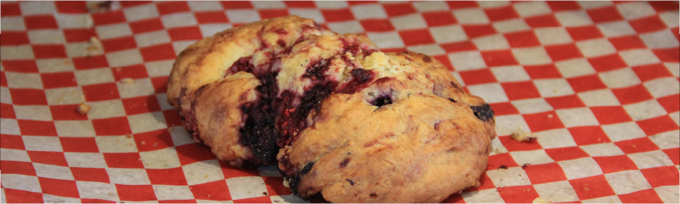 Wildberry Scone